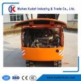 excavatrice chenillée hydraulique complet de 1,7 tonne DK16