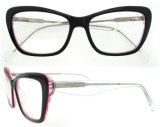 Acetato Handmade Eyewear delle donne di modo con Ce e FDA