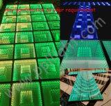 段階RGBミラーDMX LEDのダンス・フロアと結婚する2016の新しい到着