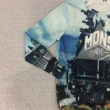 Ropa de la camisa de la impresión de Digitaces del hombre en el desgaste Fw-8753 del deporte