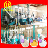Máquina da fábrica de moagem de milho do milho da pequena escala