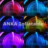 Tenda gonfiabile di cerimonia nuziale di figura delle coperture con illuminazione del LED