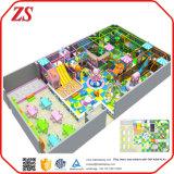 Оборудования спортивной площадки парка атракционов коммерчески для малышей, подгонянной спортивной площадки размера крытой