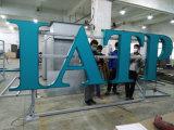 Самый последний изготовленный на заказ напольный знак Signage СИД нержавеющей стали 2016