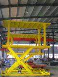 Het hydraulische Elektrische Platform van de Auto met Dek Twee