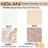 Acristalada polaco azulejos pulidos porcelana Azulejos de 600X600m interior del piso