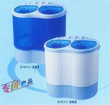 Mini-wasmachine met dubbele badkuip (XPB20-208)