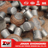 Alta bola de acero de molde del hierro del diámetro del cromo con los media de pulido de Cylpebs