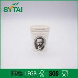 Tazza di carta stampata personalizzata di Dink del caffè a gettare del tè di alta qualità
