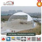 Liri 60m Dome tentes avec capot de toit en PVC blanc