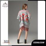 Maglione dello scialle del cardigan della nappa di modo delle donne