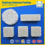 Filtro di ceramica dalla gomma piuma dell'allumina per il pezzo fuso della lega di alluminio o dell'allumina