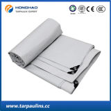 Il PE bianco ha ricoperto la tela incatramata del coperchio del camion/la tenda del tessuto tessuta tela incatramata