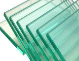 Liso/dobrou o vidro de /Tempered do vidro temperado com o certificado 3c/Ce/ISO