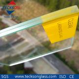 10.76mm 명확한 고품질을%s 가진 안전에 의하여 박판으로 만들어지는 플로트 유리