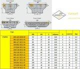표준 맷돌로 가는 공구 절단기와 일치하는 강철 Hardmetal를 위한 Cutoutil 삽입 Fmp02-050-A22-Se09-05