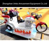 Nuevo diseño vía tren eléctrico pequeño modelo de motocicleta Cabalga con luces y la trompeta