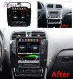 9.7inch percorso automatico di GPS di stile di Tesla del Android 9.0 per l'unità stereo 2011-2016 della testa del giocatore di multimedia dell'autoradio di polo di VW
