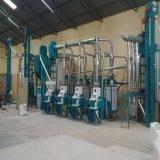 잠비아 시장, 케냐를 위한 최고 백색 옥수수 식사를 위한 옥수수 선반 기계