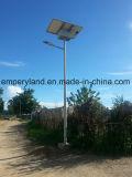 6m de alto brillo de la calle 30W de luz solar para el Proyecto Aldea