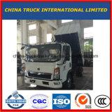 HOWO 4X2 2-5tons 수용량을%s 가진 가벼운 덤프 트럭