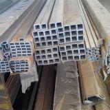 Carré d'aluminium Tuyau, tube en alliage en aluminium