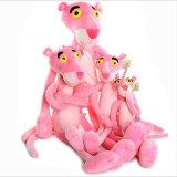 2017 het Aangepaste Stuk speelgoed van de Pluche van de Panter van de Luipaard Roze