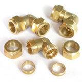 Encaixe de tubulação de bronze feito sob encomenda do OEM da alta qualidade