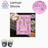 Maak Cake Verfraaiend Vormen met Lianhuan F5020 rtv-2 het Vloeibare Rubber van het Silicone