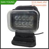 110V 220V 230V屋外LEDの探照燈のリモート制御の回転検索ライト