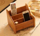 Organizador Desktop de bambu