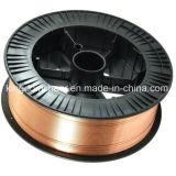 Abgeschirmter kupferner überzogener Schweißens-Draht der Qualitäts-Er70s-6 Gas