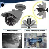 Câmera da segurança HD do CCTV de HD 720p e rede DVR