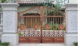 Porta exterior de alta qualidade & segurança que deslizam a porta da cerca do ferro feito