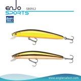 atração rasa do equipamento de pesca da isca da vara dos olhos 3D com Vmc os ganchos Treble