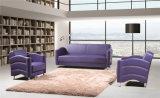 Modernes bequemes schwarzes Edelstahl-Ausgangsecken-Freizeit-Büro-Sofa