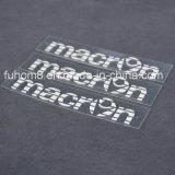 Étiquette respectueuse de l'environnement de silicones de transfert thermique de vêtement de qualité