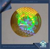 impresión micro de la escritura de la etiqueta del holograma de la seguridad del texto 3D