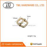 金属の正方形のリングのハンドバッグのためのワイヤーによって形作られるリングのバックル