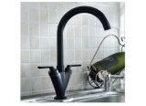 Il nero del globo del Tutto-Rame gira rubinetto mescolantesi caldo/freddo della cucina dell'acqua