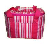 De niet-geweven van Katoenen van de Polyester Nylon Geïsoleerde, Zak Van uitstekende kwaliteit van de Picknick van de Lunch van de Manier van het Ontwerp Jean Jute PU PVC Leather Leat van het Canvas Hete Verkopende Nieuwe Koeler