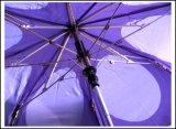 Зонтик гольфа 2 створок 27inch изготовленный на заказ портативного автомобиля открытый Windproof