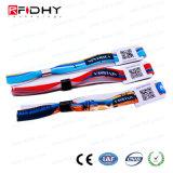 Pulsera inteligente RFID pasiva, tejido impermeable de calor de la muñequera de NFC Anti