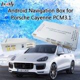Навигатор GPS поверхности стыка мультимедиа подъема Android для Порше Кайен PCM3.1