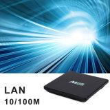 人間の特徴をもつTVボックス7.1.2のAmlogic S905Xのクォードのコア2.4G WiFi 4K HDサポート、IRのリモートとのスマートなM95 2GBのRAM 16GB