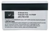 Карточка магнитной прокладки пластмассы Card/PVC подарка