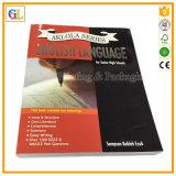 Impression élevée de livre de couverture molle de Qaulity (OEM-GL045)