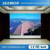 Örtlich festgelegte Innenbildschirmanzeige LED-P4 mit 500*500 Druckguss-Aluminium-Schrank