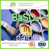 Sulfato de bário livre do pó do sulfato de bário Baso4/da amostra para a pintura do carro