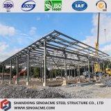 Edifício de frame de aço longo da extensão com projeto profissional